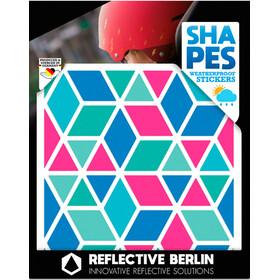 REFLECTIVE BERLIN Shapes Pegatina Reflectora, Multicolor